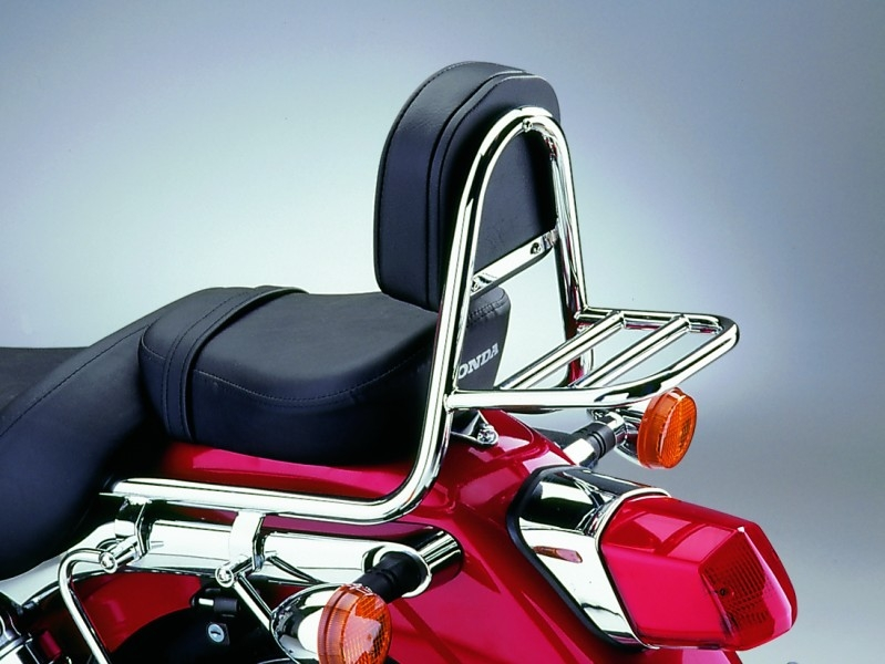 Sissy Bar Made Of Tube With Pad And Carrier